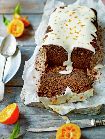 Chocolate & pumpkin loaf