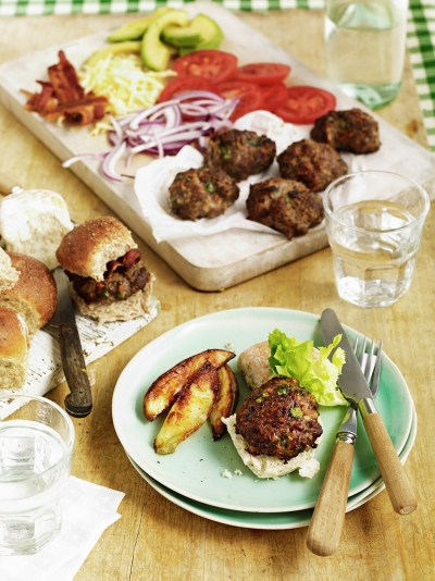 how to make lamb burgers jamie oliver