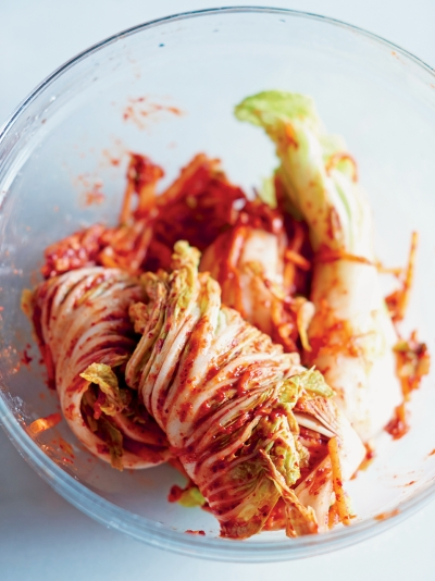 Chicken Skewers with Pickled Slaw Recipe pics