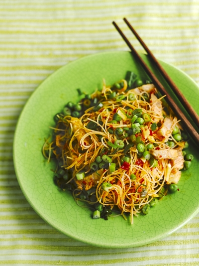 Pork fried noodles