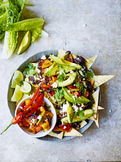 Mexican recipes jamie oliver mega veggie nachos forumfinder Image collections