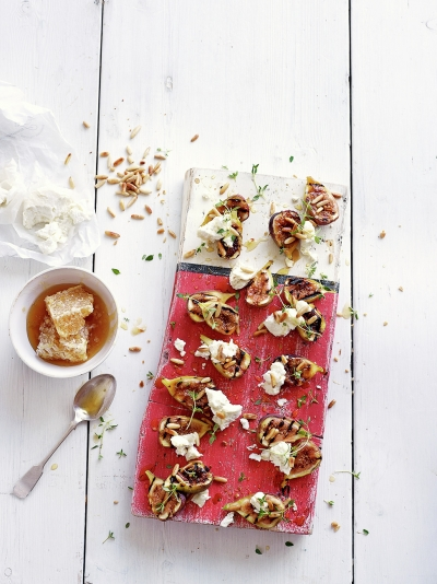 Aussie christmas recipes jamie oliver figs with pine nuts goats curd forumfinder Choice Image