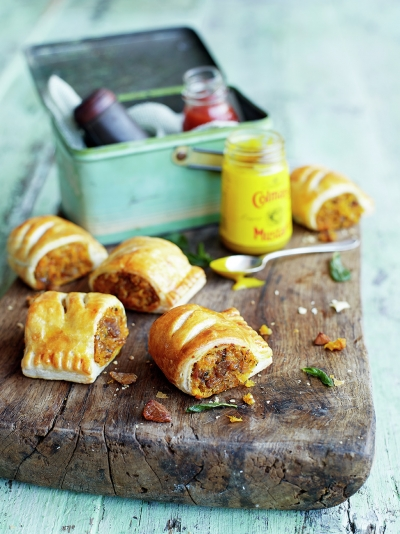 Squash, sage & chestnut rolls