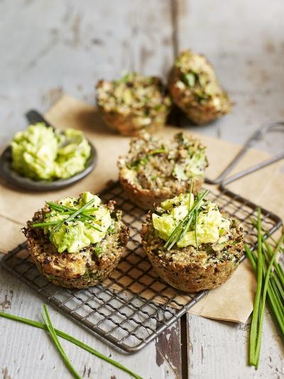 Quinoa & kale muffins