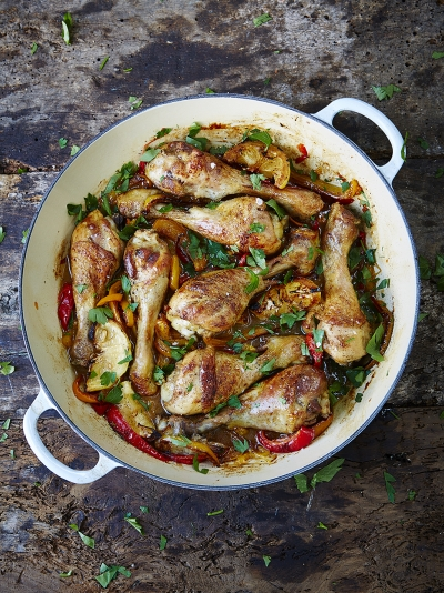 Cheap cheerful recipes jamie oliver food allergy mums chicken drumsticks forumfinder Choice Image