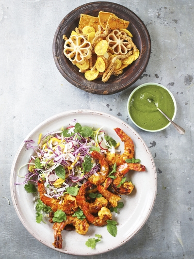 Indian recipes jamie oliver alesha dixons spicy prawns forumfinder Choice Image