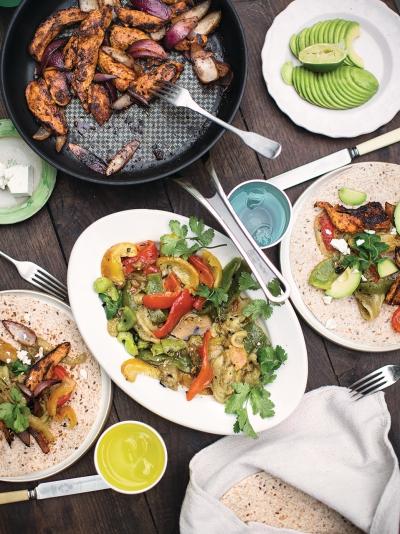 Chicken Fajitas Chicken Recipes Jamie Oliver Recipe
