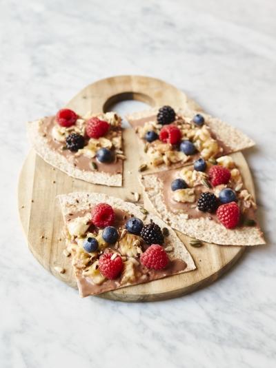Breakfast recipes jamie oliver mini super fruit breakfast wraps forumfinder Gallery