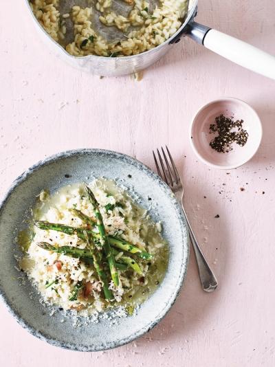 Crab Asparagus Risotto Rice Recipes Jamie Magazine Recipes