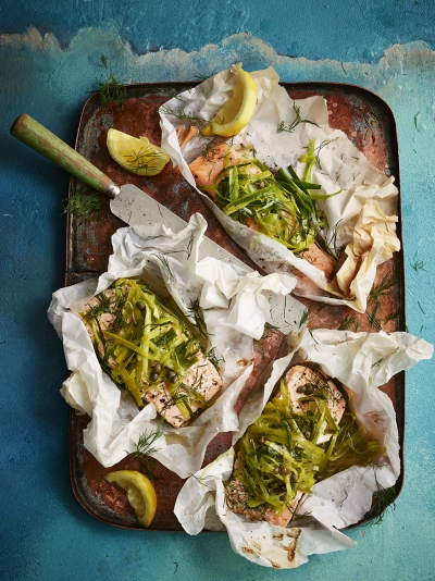 Fish recipes jamie oliver leek salmon parcels forumfinder Image collections