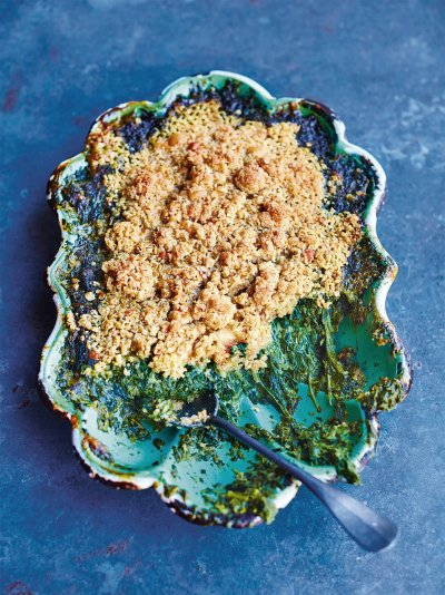Vegetarian recipes jamie oliver creamed spinach forumfinder Gallery