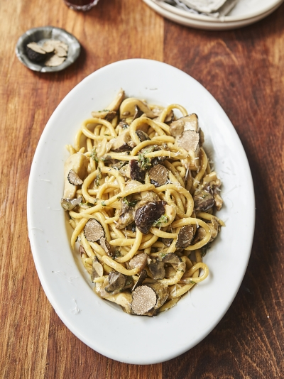 Ashley Jensen's Umbrian pasta