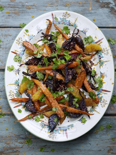 Beetroot Carrot And Orange Salad Vegetable Recipes Jamie Oliver