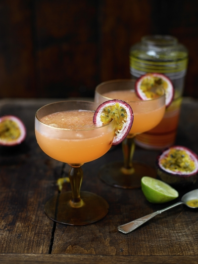 Dry passion fruit daiquiri