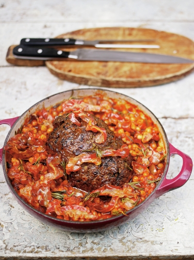 Minced beef recipes jamie oliver jamies meatloaf forumfinder Image collections