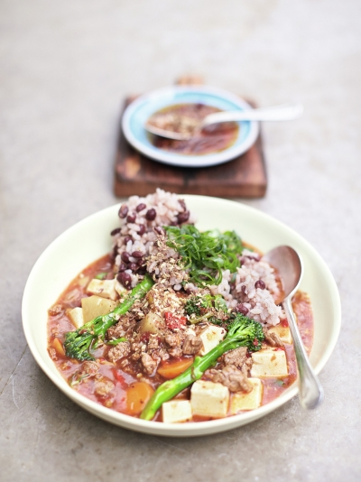 Chinese steak & tofu stew image