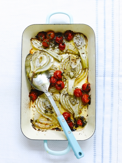 Slow-roasted fennel