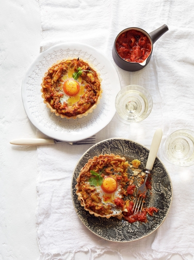Christmas kedgeree breakfast tarts