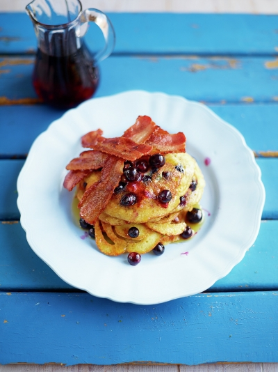 Berry good pancakes