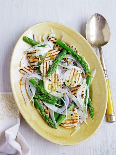 Jamie oliver asparagus halloumi salad forumfinder Images
