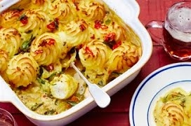 Curried Fish Pie