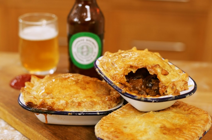 Jamie's Beef and Ale Aussie Meat Pie